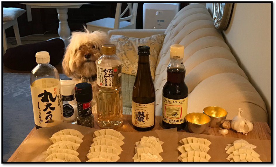 Layla Preparing Gyoza